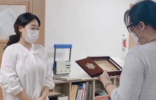 제 8회 수영복지의달 기념 유공자 표창